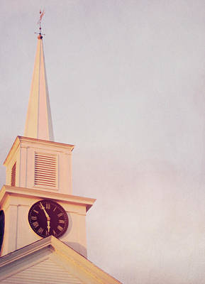 Photograph - Clock Steeple by JAMART Photography