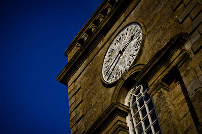 Photograph - Clock Tower by Alex Leonard