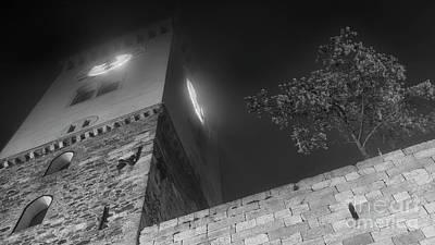 Target Threshold Photography - Clock tower at night by Vyacheslav Isaev