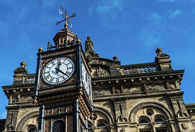 Photograph - Clock Tower B Gateshead Old Town Hall by Jacek Wojnarowski