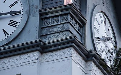 Photograph - Clock Tower Close Up by Sally Simon
