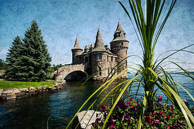 Photograph - Boldt Castle Power House And Clock Tower by Crystal Wightman