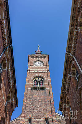 Historic Architecture Photograph - Clock Tower by Shaun Wilkinson