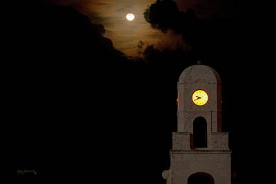 Photograph - Clock Tower Worth Avenue Palm Beach 2 by Ken Figurski