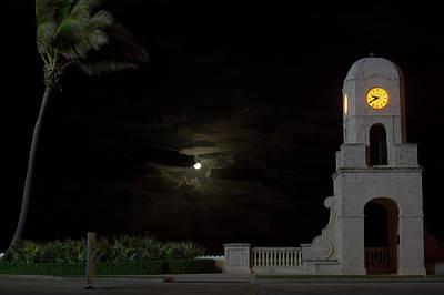 Photograph - Clock Tower Worth Avenue Palm Beach 3 by Ken Figurski