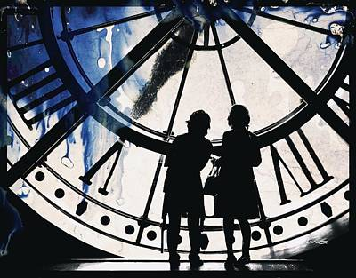Painting - Clock Watching by Mark Taylor