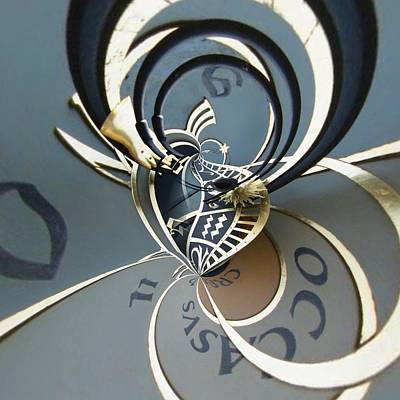 Orrery Photograph - Clockface 10 by Philip Openshaw