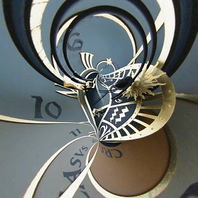 Orrery Photograph - Clockface 12 by Philip Openshaw