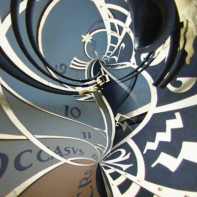 Orrery Photograph - Clockface 14 by Philip Openshaw