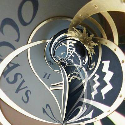 Orrery Photograph - Clockface 4 by Philip Openshaw