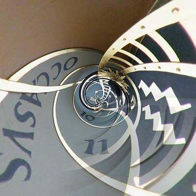 Orrery Photograph - Clockface 6 by Philip Openshaw