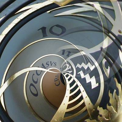 Orrery Photograph - Clockface 8 by Philip Openshaw