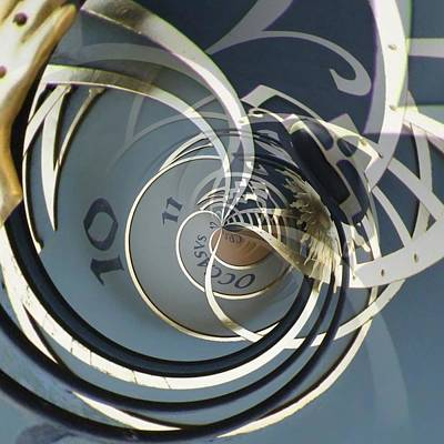 Orrery Photograph - Clockface 9 by Philip Openshaw