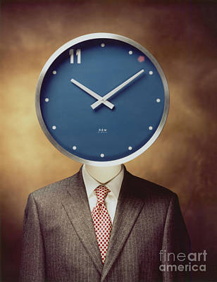 Photograph - Clockhead by Hans Janssen