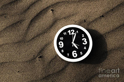 Outdoor Still Life Photograph - Clocks And Ripples by Jorgo Photography - Wall Art Gallery