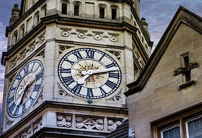 Photograph - Clocks In Evening by Jean Noren