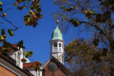 Photograph - Clock Tower by Kathryn Meyer