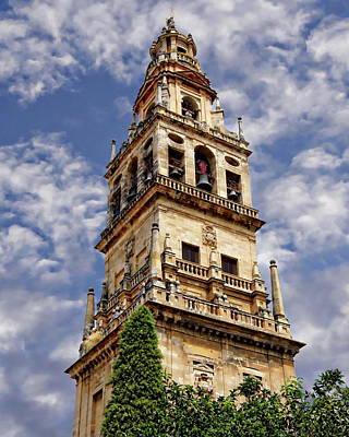 Photograph - Clocktower Of Cordoba by Anthony Dezenzio
