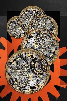 Clockwork Orange - 3 Of 4 Original by Serge Averbukh