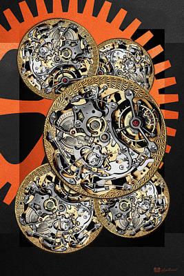 Clockwork Orange - 4 Of 4 Original by Serge Averbukh