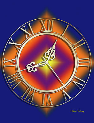 Digital Art - Clockwork Orange by Chuck Staley