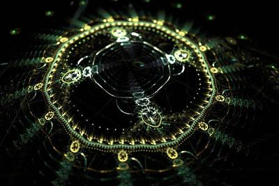 Digital Art - Clockwork by Sleepless Monk