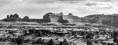 Photograph - Clog Ridge, Black And White by Adam Morsa