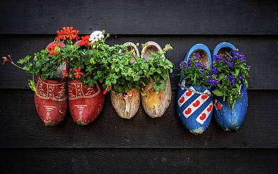 Photograph - Clogs by Framing Places