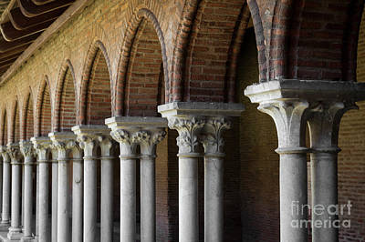 Photograph - Cloister, Couvent Des Jacobins by Elena Elisseeva