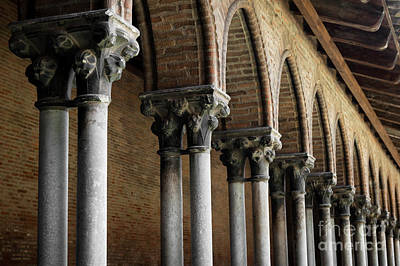 Cloister Detail, Couvent Des Jacobins Art Print