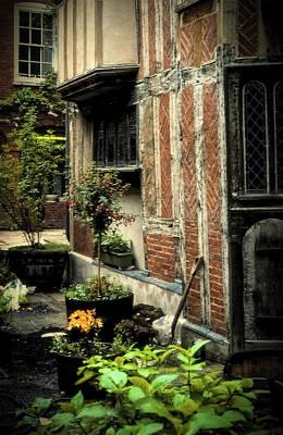 Cloister Garden - Cirencester, England Art Print
