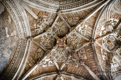 Cathedral Photograph - Cloister Vault In Leon Cathedral - 2 by RicardMN Photography