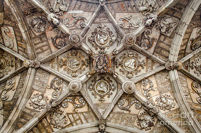 Photograph - Cloister Vault In Leon Cathedral by RicardMN Photography