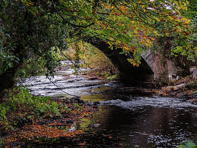Photograph - Clondegad Bridge In Autumn by James Truett