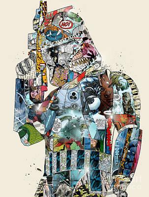 Fan Art Painting - Pop Art Trooper by Bri B