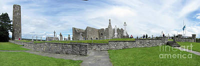 Photograph - Clonmacnoise Ireland 1 by Rudi Prott