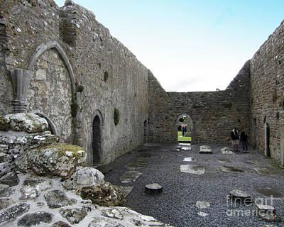 Photograph - Clonmacnoise Ireland 10 by Rudi Prott