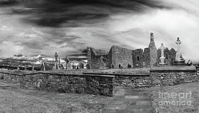 Photograph - Clonmacnoise Ireland 12 by Rudi Prott