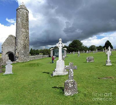 Photograph - Clonmacnoise Ireland 3 by Rudi Prott