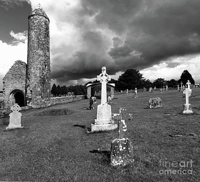 Photograph - Clonmacnoise Ireland 4 by Rudi Prott