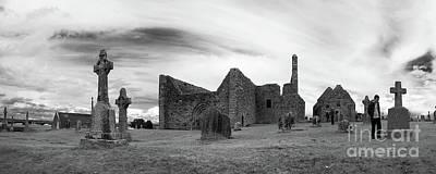 Photograph - Clonmacnoise Ireland 8 by Rudi Prott