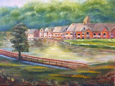 Smithfield Painting - Clontz Park by Richard Smith