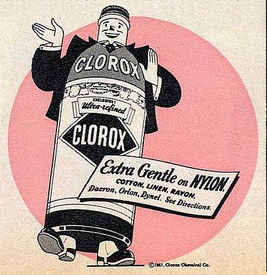 Digital Art - Clorox Extra Gentle by Reinvintaged