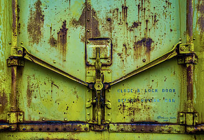 Rustic Doors Wall Art - Photograph - Close And Lock by Marvin Spates
