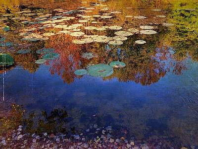 Digital Art - Close By The Lily Pond  by Delona Seserman