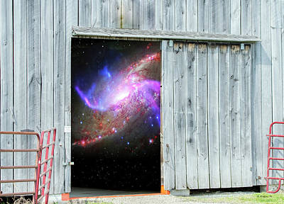 Shed Digital Art - Close The Barn Door by Brian Wallace