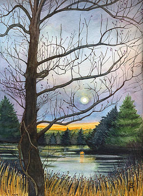 Painting - Close To Dusk by Katherine Miller