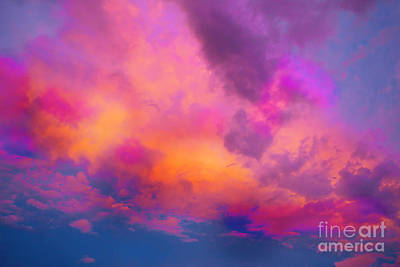Painting - Close To Heaven #129 by Expressionistart studio Priscilla Batzell