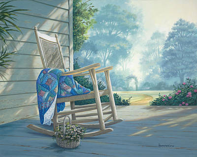 Painting - Close To My Heart by Michael Humphries