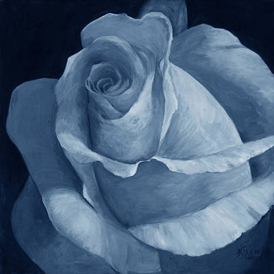 Painting - Close To Perfection Blue by Billie Colson